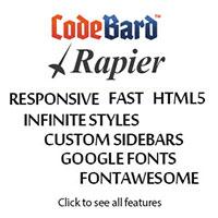 Rapier WordPress Theme