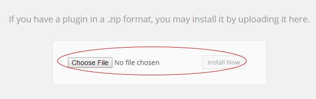 Upload the Plugin 2